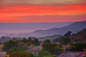 Palo Duro Canyon, the book's setting, via the A Match Made in Texas Pinterest Board.