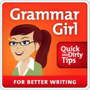 Bonus reason: many authors have Grammar Girl as a sidekick!