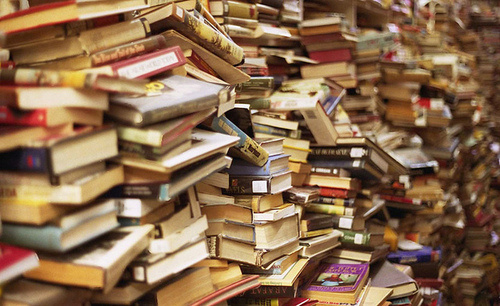 To add to the stress, your TBR pile starts to feel like this.