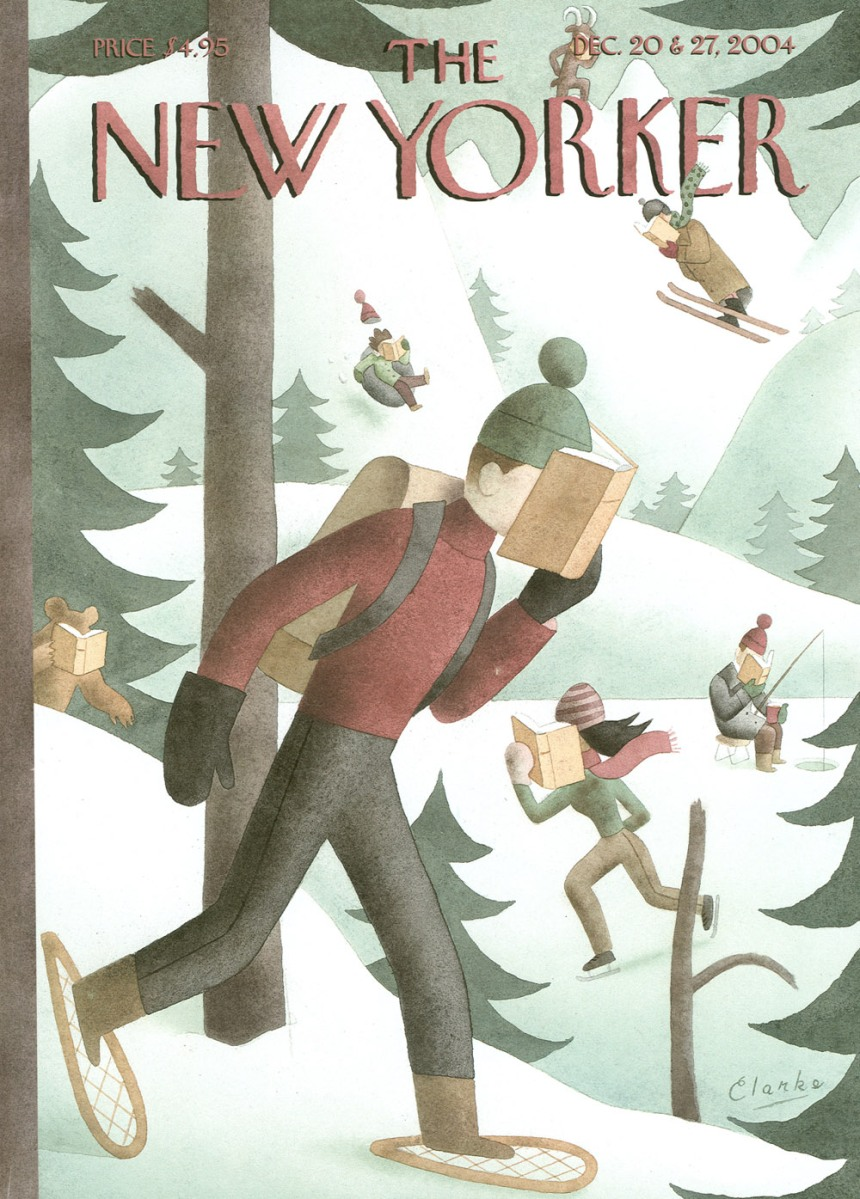 Make Reading a Winter Sport